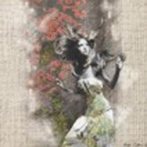Art by Aga Czech: FLOWER GIRL