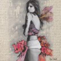 Art by Aga Czech: GIRL IN RED